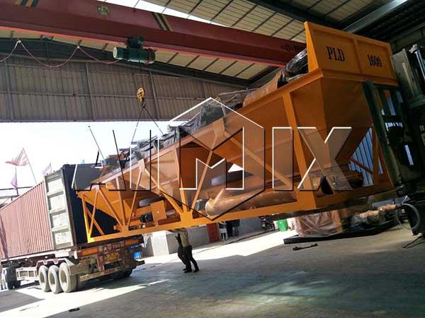 бетонный дозатор PLD1600