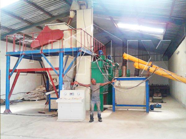 оборудование для производства сухих строительных смесей из китая