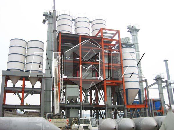 оборудование по производству сухих строительных смесей