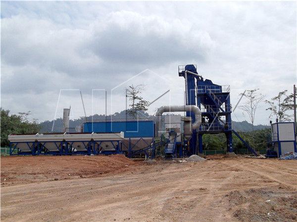 Асфальтовый завод из Китая