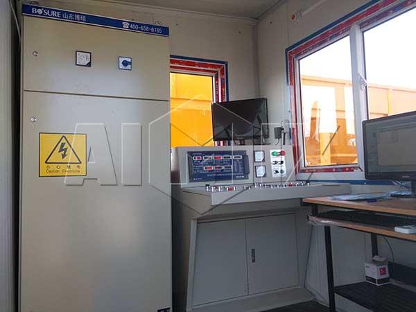 система управления -бетонный завод