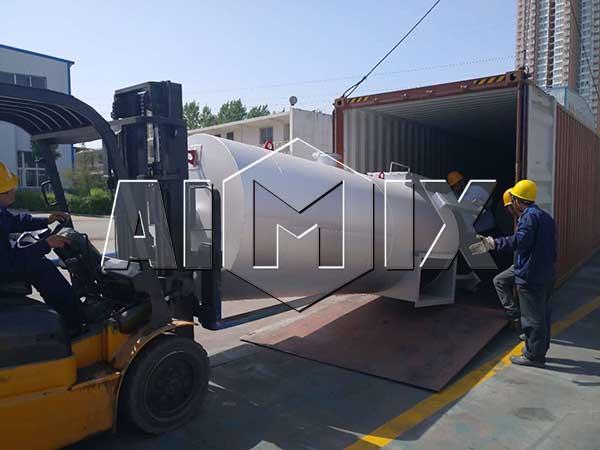 Асфальтовый завод был отправлен в Индонезию