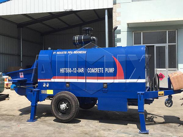AIMIX мини-дизель бетононасос 50 м3/ч