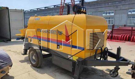 Малайзия: бетононасос прицепной 40 м3/ч