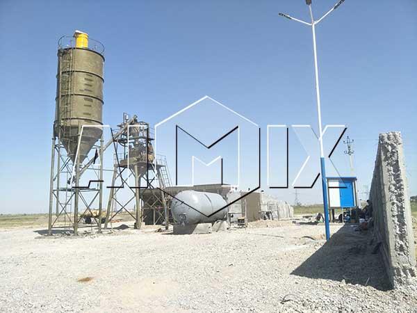 Мини бетоносмесительный узел 35 м3/ч