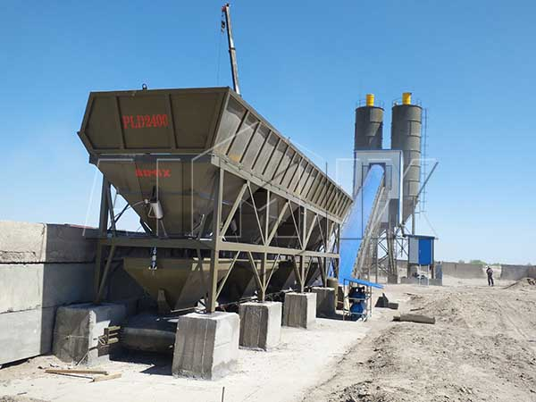 Стационарный бсу 90 м3/ч в Узбекистане
