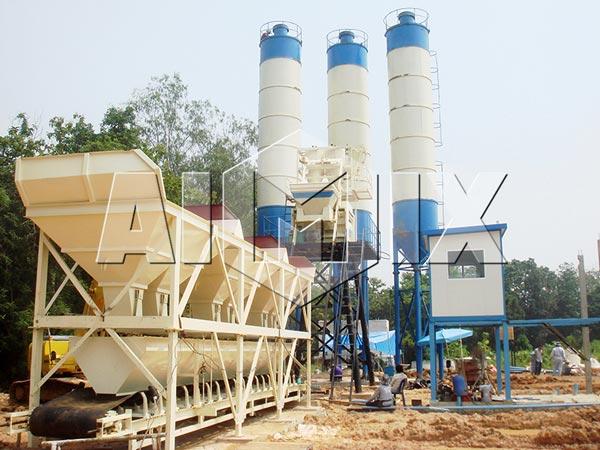 Купить быстровозводимый бетонный завод