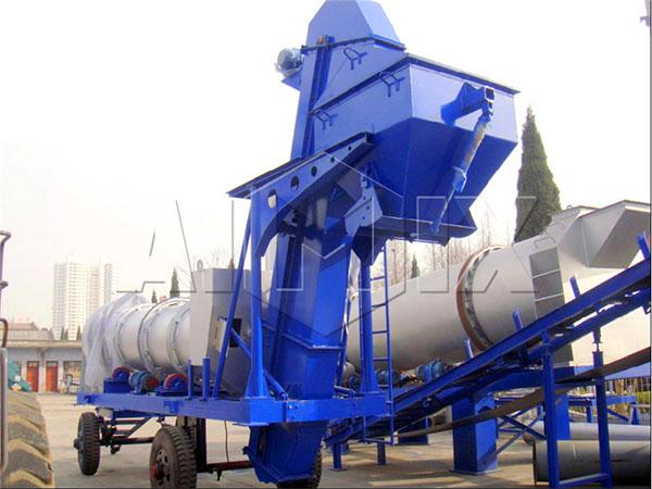 Мини асфальтовый завод 40 тонн в час