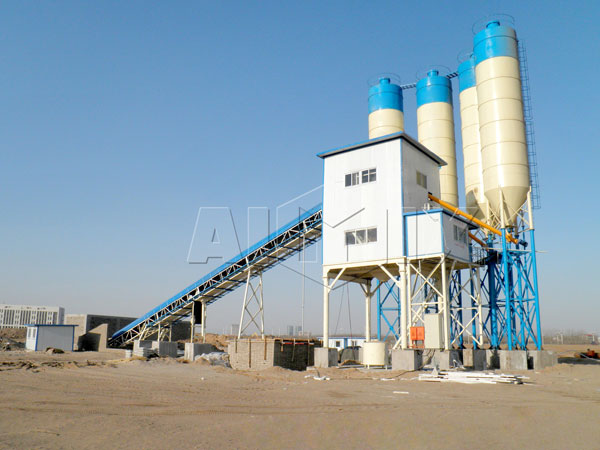 Модульный бетонный завод