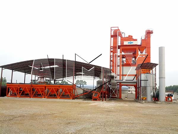 AIMIX стационарный асфальтобетонный завод
