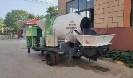 Бетоносмесительный насос 40 м3/ч был отправлен на Филиппины
