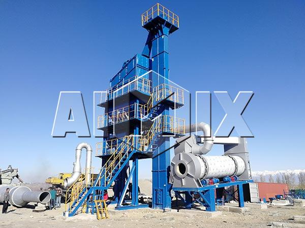 Стационарный асфальтный завод в Казахстане