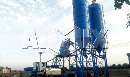 Пакистан: стационарный бетонный завод