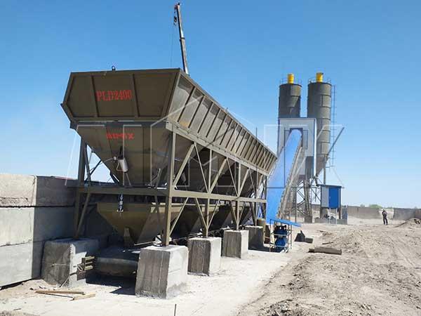 Стационарный бетонный узел 90 м3/ч