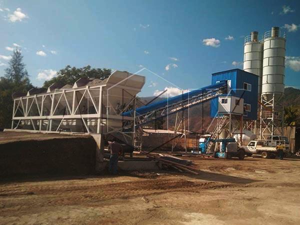 Стационарный бетонный завод 60 м3/ч