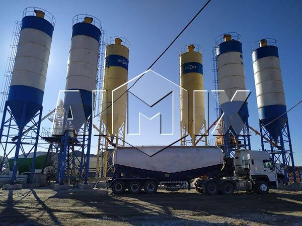 Бетонный завод 50 м3/ч в Узбекистане