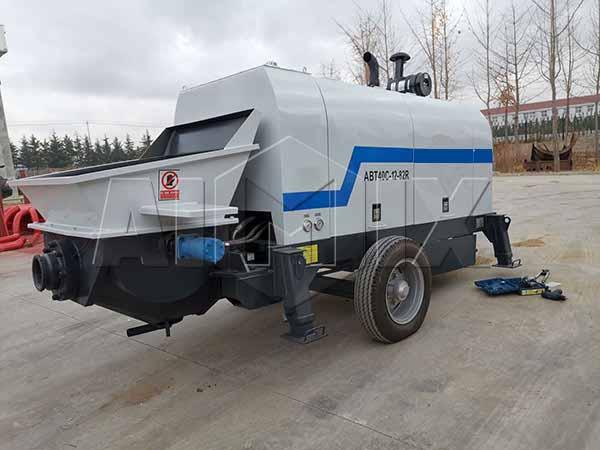 Боливия: дизельный бетононасос прицепной 40 м3/ч