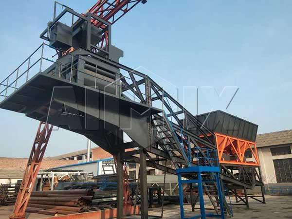 Купить передвижной бетонный завод