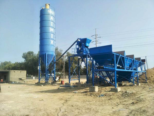 Пакистан: Мини бетонный завод