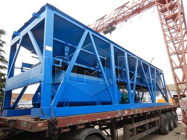 Установка для смешивания стабилизированного грунта в Казахстане