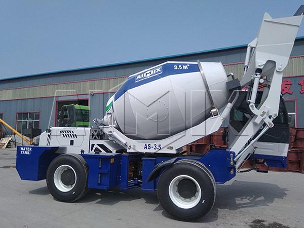 Самоходный бетоносмеситель в Казахстане