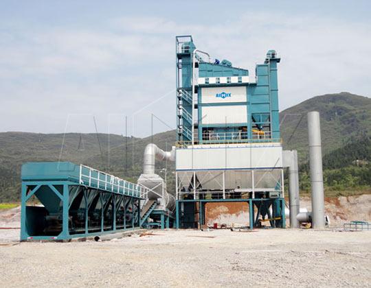 Стационарный асфальтовый завод ALQ160