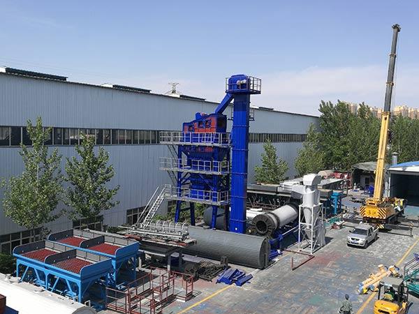 Асфальтный завод у производителя
