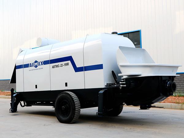 Бетононасос дизельный 90 м3/ч