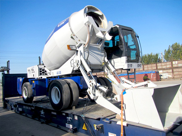 Купить самоходный бетоносмеситель с самозагрузкой
