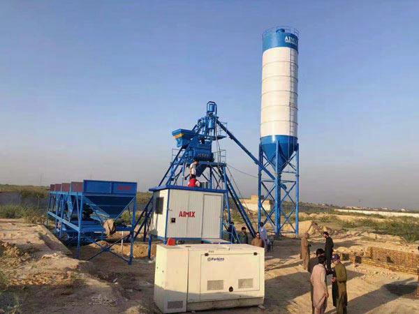 Малый бетонный завод 25 м3/ч