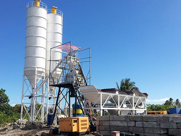 Малый бетонный завод 50 м3/ч