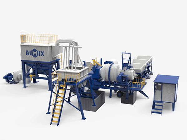 Мини асфальтовый завод серии ALYJ