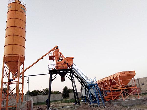 Мини бетонный завод купить