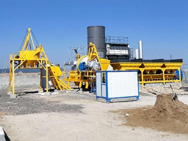 Мобильный асфальтобетонный завод серии ALYJ