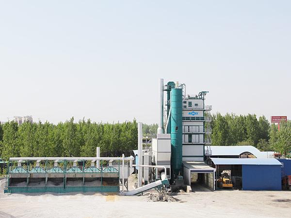 Стационарный асфальтобетонный завод 320 тонн в час