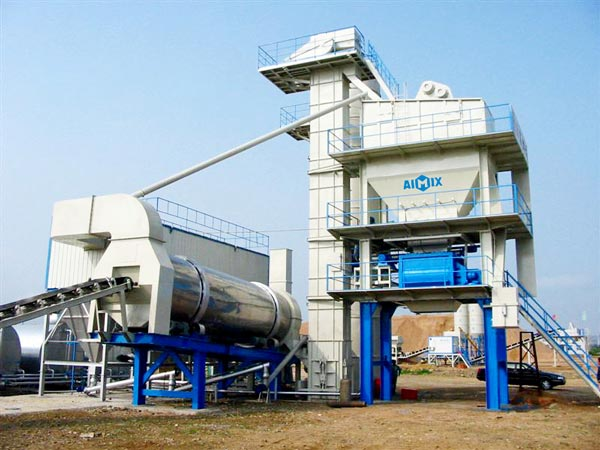 Стационарный асфальтобетонный завод 80 тонн в час