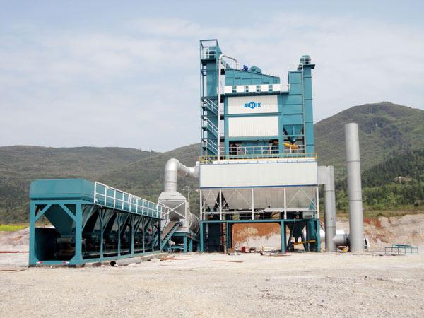 Стационарный асфальтобетонный завод из Китая