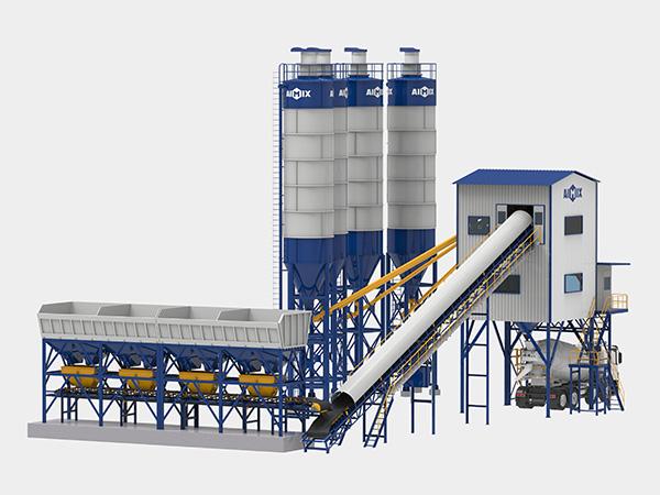 Стационарный бетонный завод 120 м3/ч