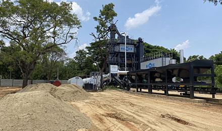 Асфальтный завод 100 тонн в час