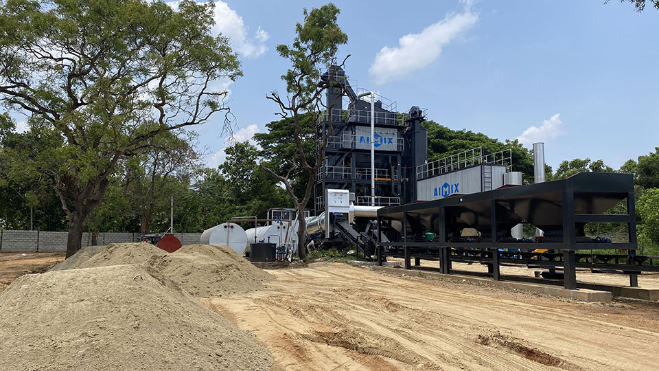 Асфальтобетонный завод 100 тонн в час